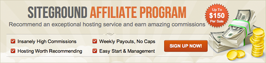 SiteGoround Affiliate Program