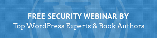 WordPress Security Webinar