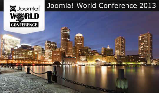 Joomla World Conference 2013