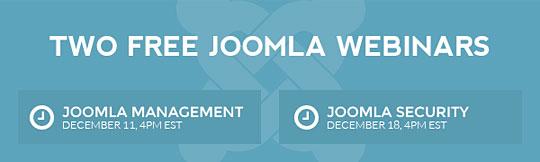 New Joomla Webinars Series!