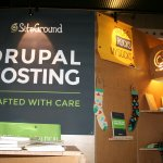 SiteGround DrupalCon Booth