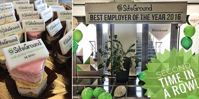 SiteGround Employer of the Year Award Blog Cover