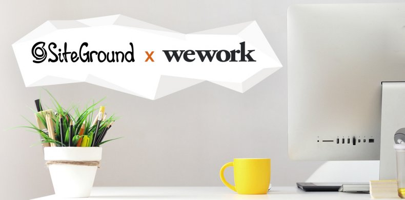 SiteGround and WeWork partnership