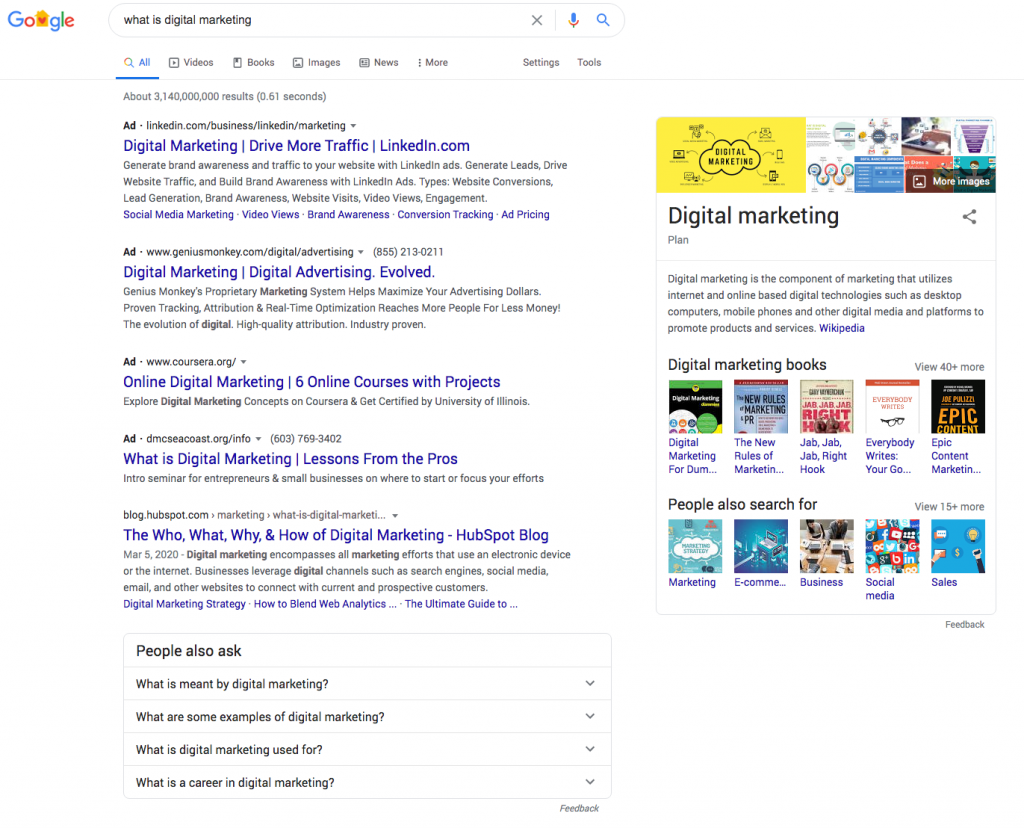 search intent in seo