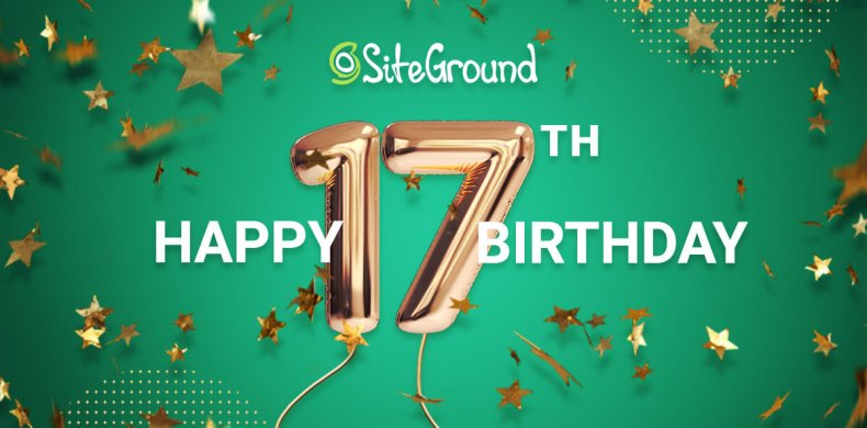 SiteGround_17_Birthday