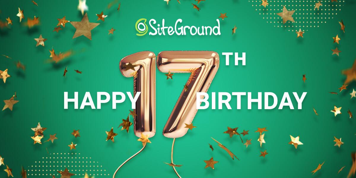 SiteGround_17_Birthday