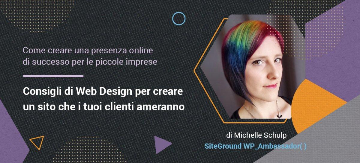 Michelle Schulp web design post