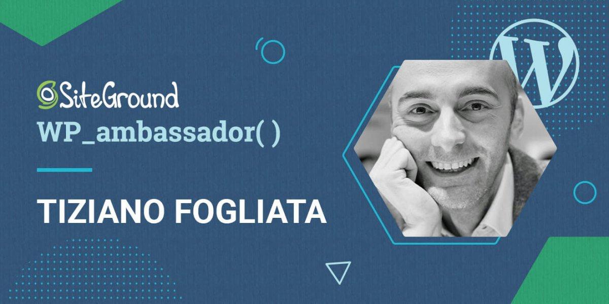 Tiziano Ambassador post