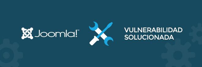 Joomla versión 3.4.5 de seguridad