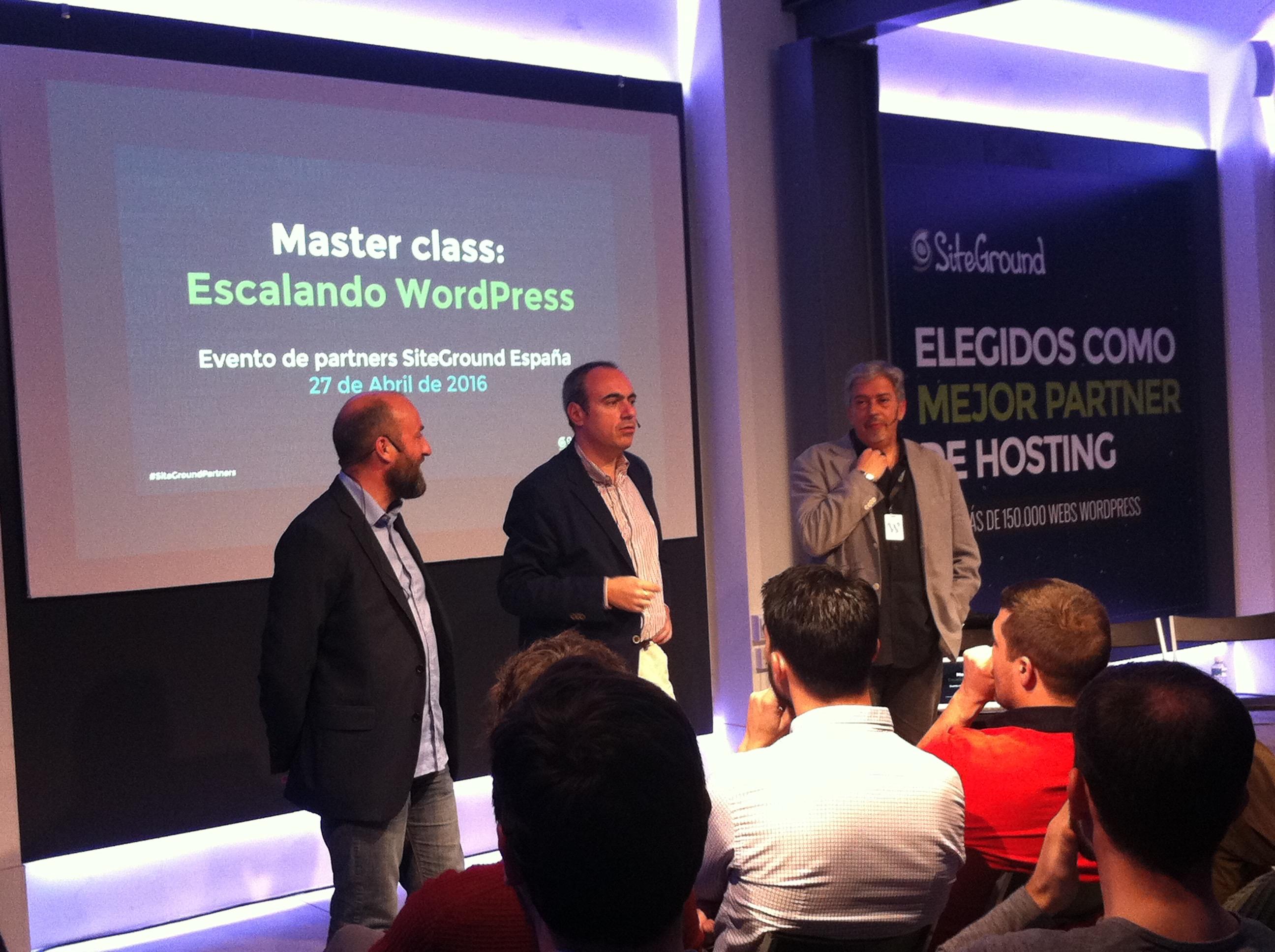 """Evento de Partners """"Escalando WordPress"""""""