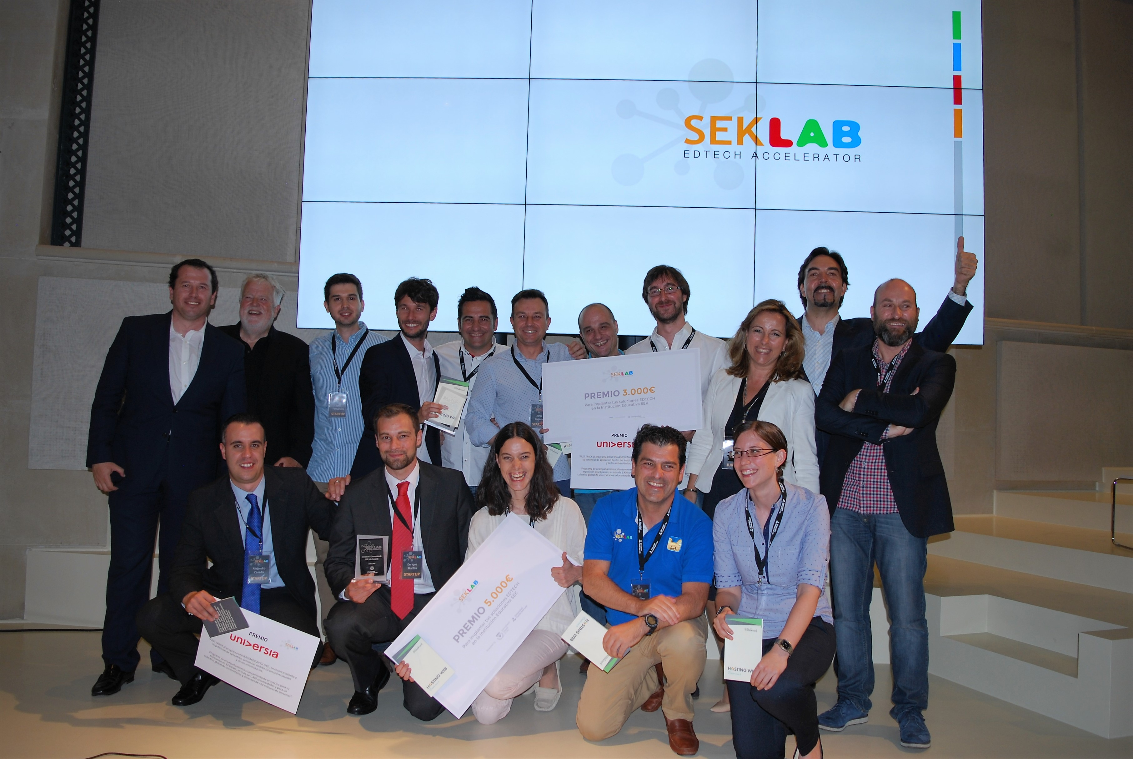SEK Labers premio Siteground