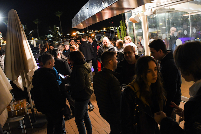 Cena terraza - WordCamp Gran Canaria
