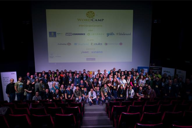 Foto final - WordCamp Gran Canaria