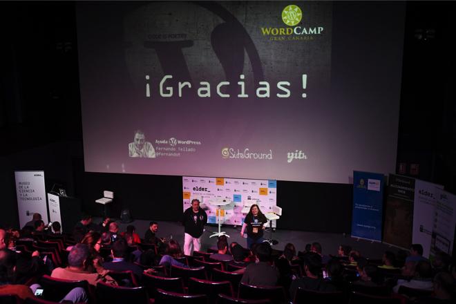 Fernando Tellado - WordCamp Gran Canaria