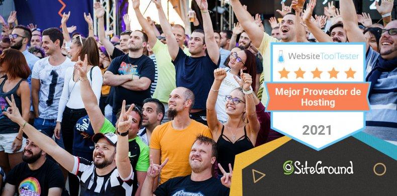 SiteGround mejor hosting 2021